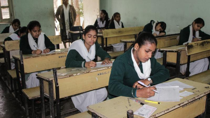 CBSE to conduct class 10, 12 board exams at 15,000 centres across country. (PTI Photo)