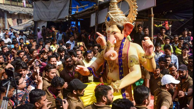 In mumbai leading mandal postpones Ganpati festival celebration. ( PTI Photo)