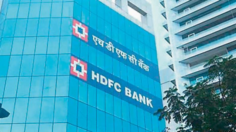 HDFC Bank's valuation zoomed Rs 61,612.11 crore to reach Rs 5,21,660.14 crore. (PTI Photo)