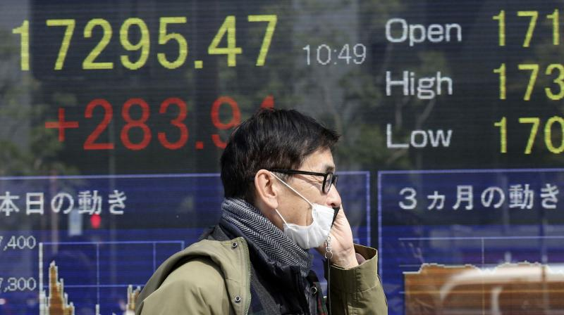 Asia stocks prove resilient to U.S. riots as S&P futures bounce. (AFP Photo)