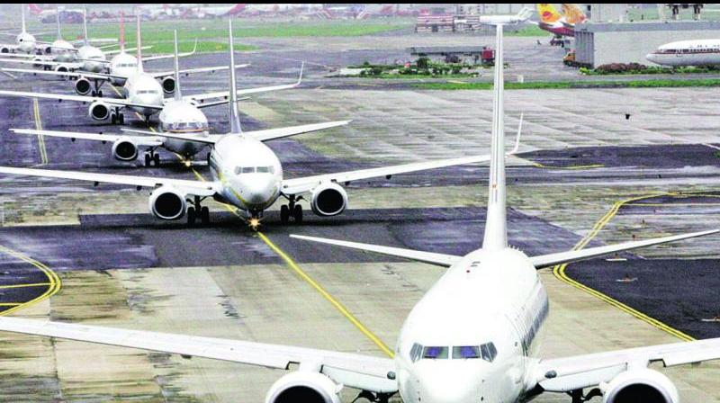 India tells airlines to keep middle seat vacant as far as possible. (PTI Photo)