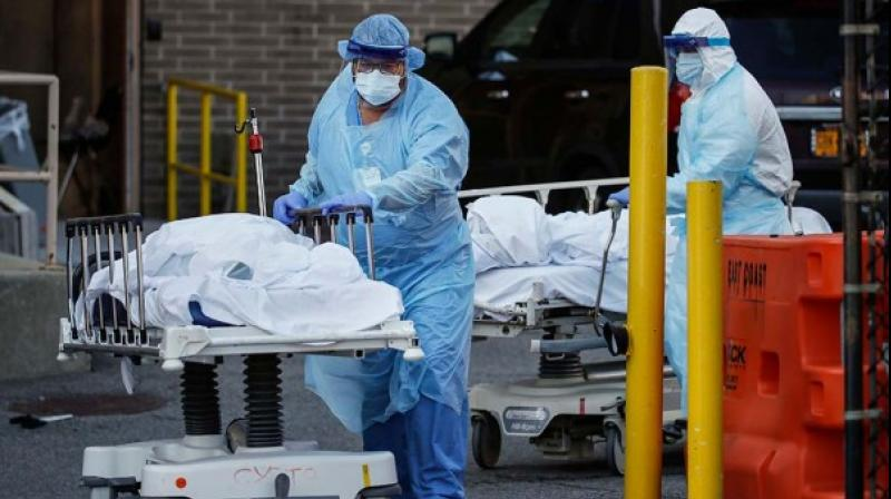 A total of 375,070 deaths have been registered across the globe from 6,258,474 cases. (AP Photo)