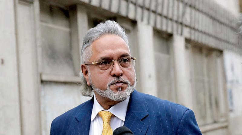 Indian fugitive business tycoon Vijay Mallya. (AFP  Photo)