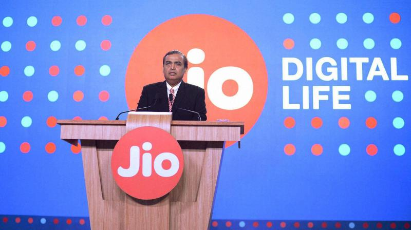 Mukesh Ambani's Jio telecom carrier is emerging as a winner from changes in the way Indian consumers plug into a digital economy. (PTI Photo)