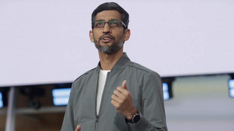 Google CEO Sundar Pichai. (PTI Photo)