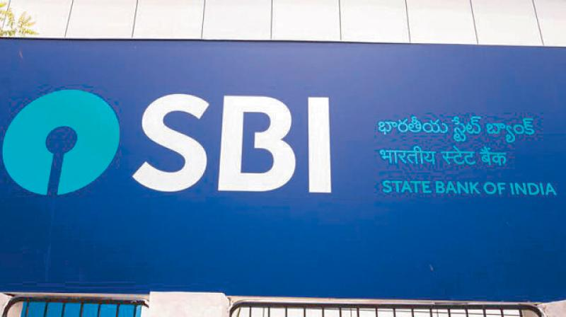 Shares of SBI were trading at Rs 398.50 per unit. (Photo: PTI)