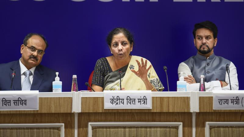 Finance ministry asked all ministries and departments not to initiate any new scheme in the current financial year. (PTI Photo)