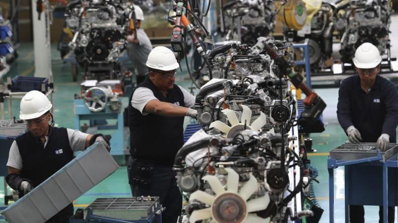 Auto component sector may see huge job losses if the automotive sector continues to face headwinds due to lack of demand amid coronavirus. (AFP Photo)