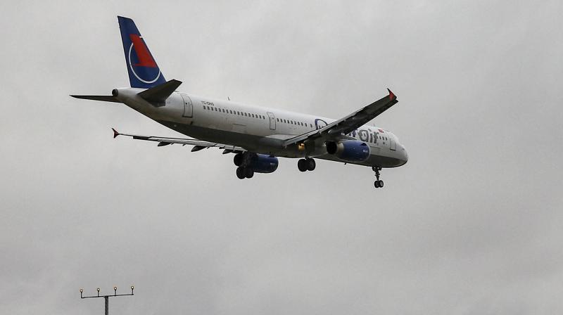 Airlines are set to lose $84 billion as the coronavirus pandemic reduces revenue by half. (AFP Photo)