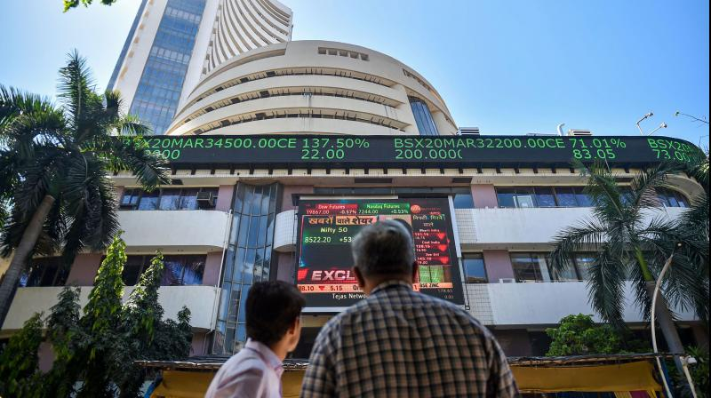 Equity benchmark Sensex plunged 709 points on Thursday. (PTI Photo)
