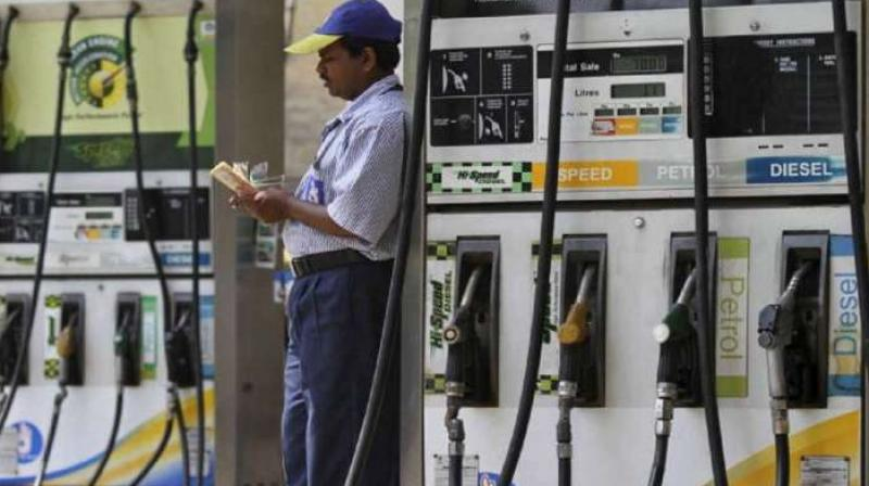 India's fuel demand rose by nearly 50% in May from the previous month as the country eased coronavirus-led restrictions. (PTI Photo)