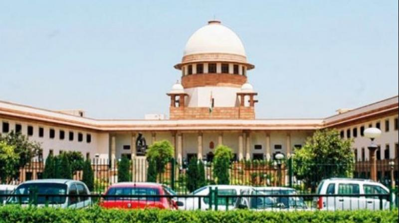 Supreme Court of India. (PTI)