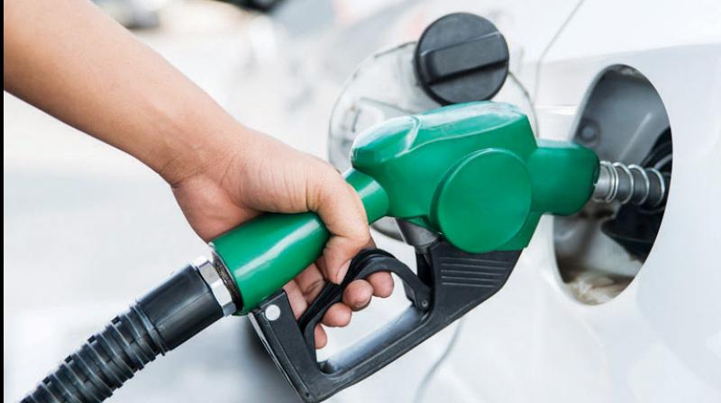 Petrol price increased by 47 paise per litre and that of diesel by a record 93 paise. (PTI Photo)