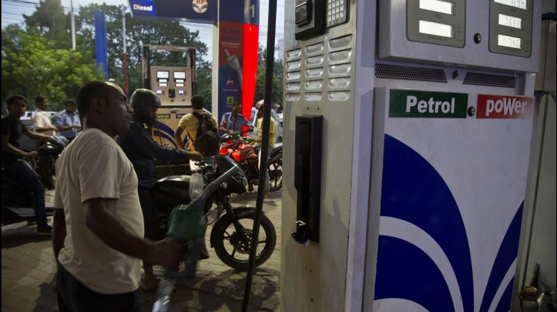 India's fuel demand reaches 80-85% of pre-COVID levels. (AP Photo)