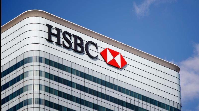 HSBC resumes cutting around 35,000 jobs. (AFP Photo)