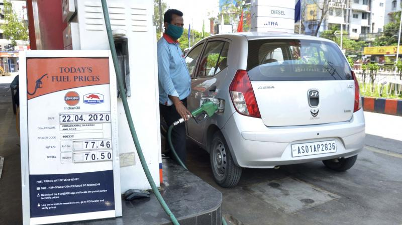 Petrol price on Friday was hiked by 56 paise per litre and diesel by 63 paise a litre. (PTI Photo)
