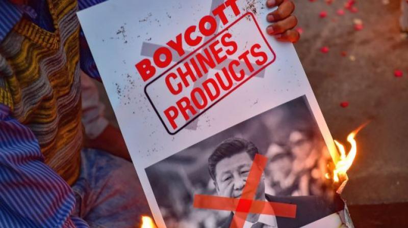 Boycott call may impact Chinese exports worth USD 17 bilion. (PTI Photo)