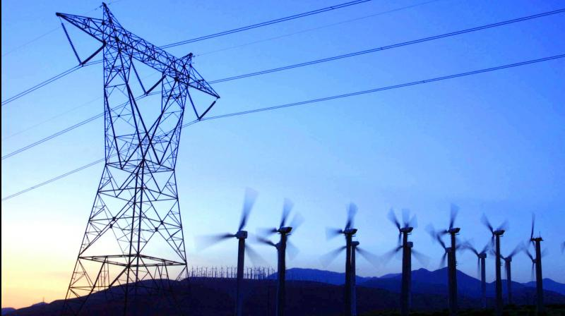 India's electricity generation during the first half of June fell at a slightly faster rate than in May. (AFP Photo)