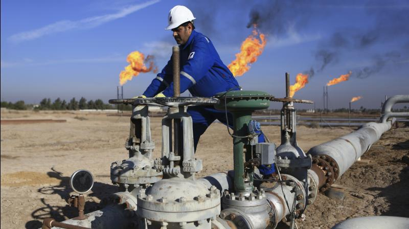 Crude oil imports fell to 14.61 million tonnes. (AP Photo)