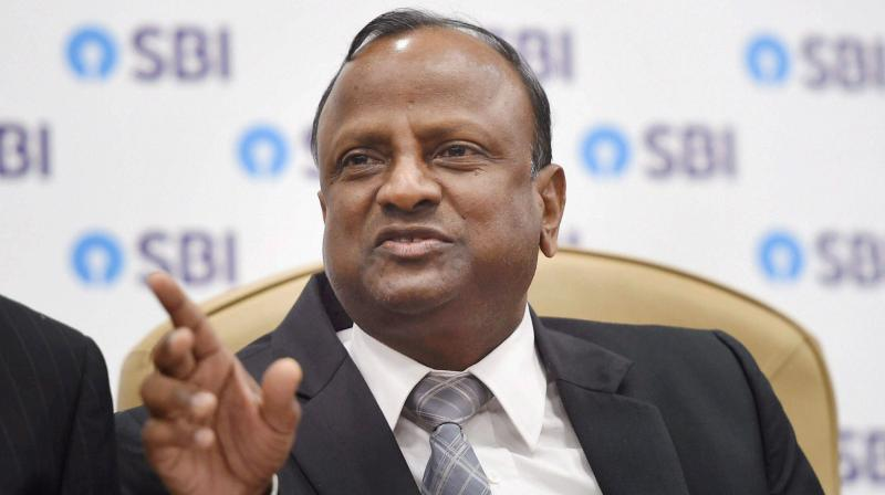 SBI chairman Rajnish Kumar assured shareholders that the likely job cuts and salary reductions in the wake of COVID-19 pandemic. (PTI Photo)