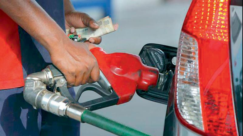 Diesel price touch new record high today. (PTI Photo)