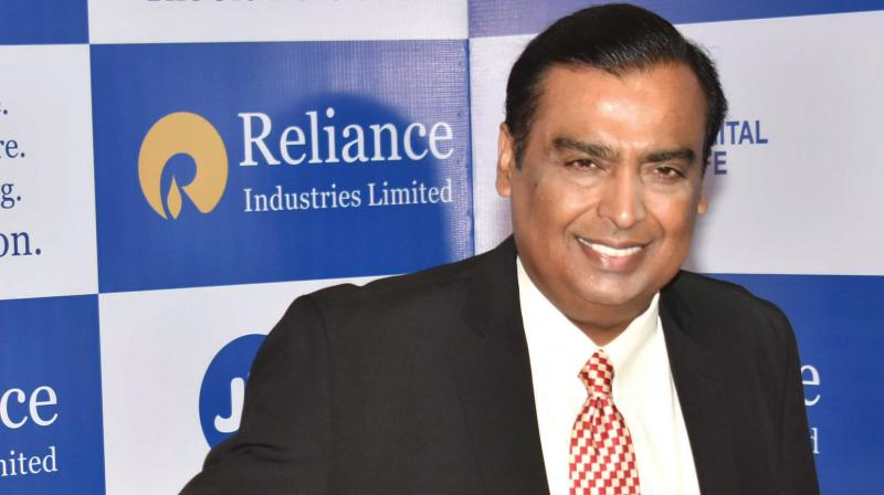 Reliance Industries on Monday became the first Indian firm to hit a market valuation of USD 150 billion. (PTI Photo)