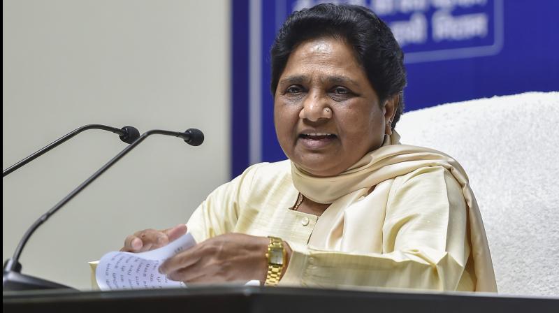 Bahujan Samaj Party (BSP) president Mayawati. (PTI Photo)