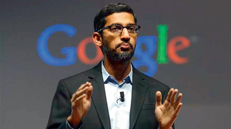 Google CEO Sundar Pichai disappointed with Donald Trump's foreign work visa suspension. (PTI Photo)