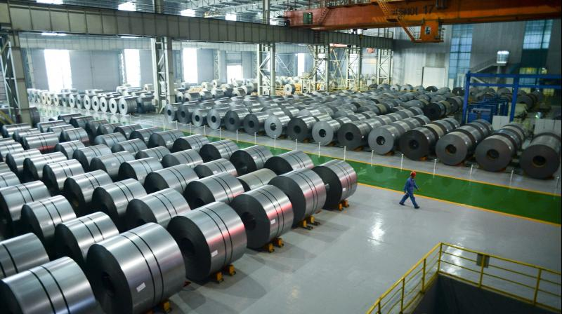 India has imposed an anti-dumping duty on steel imports from China, Vietnam and South Korea. (PTI Photo)