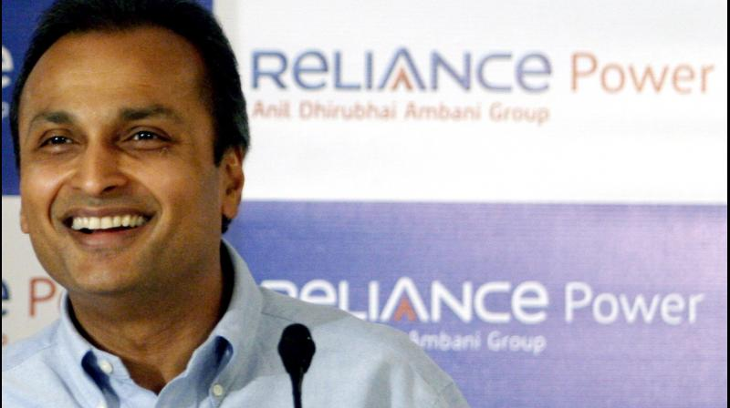 Reliance Power said on Tuesday it continues to be one of India's top three private power generation companies with operating portfolio of around 6,000 megawatt. (PTI Photo)