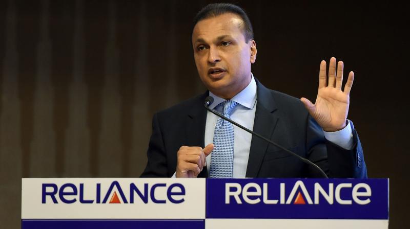 Anil Ambani , CEO , Reliance Communications. (PTI Photo)