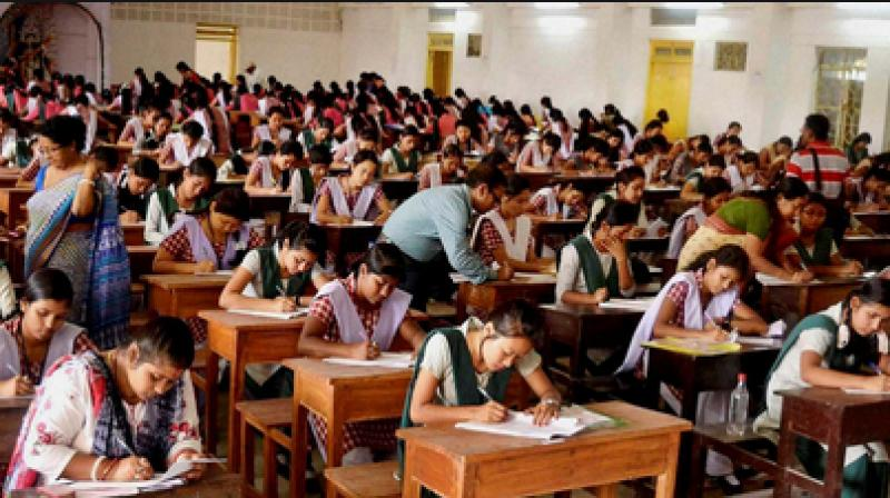 Centre and the CBSE Thursday informed the Supreme Court that they have decided to cancel the Class X and XII examinations. (PTI Photo)