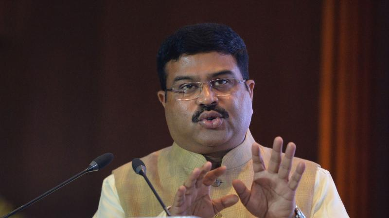 Oil minister Dharmendra Pradhan said India will gradually end central controls on gas pricing as it seeks to attract foreign investment. (PTI Photo)
