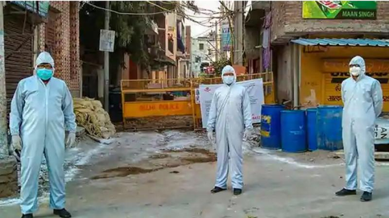 The number of COVID-19 containment zones in Delhi has risen to 417. (PTI Photo)