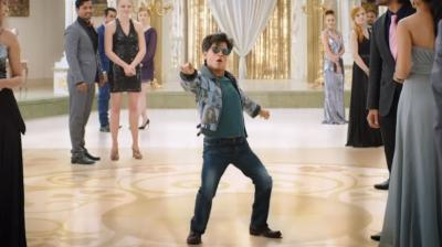 Screenshot of SRK from 'Zero' title announcement video.