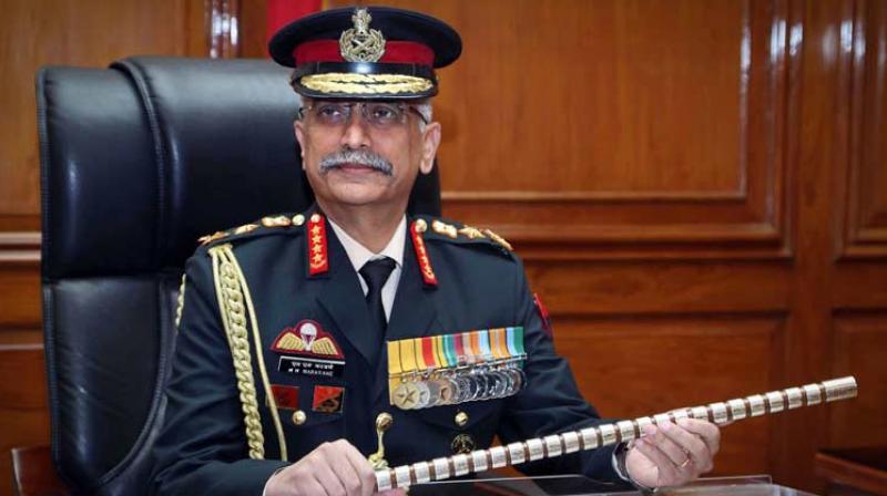 Army Chief General M M Naravane (PTI photo)