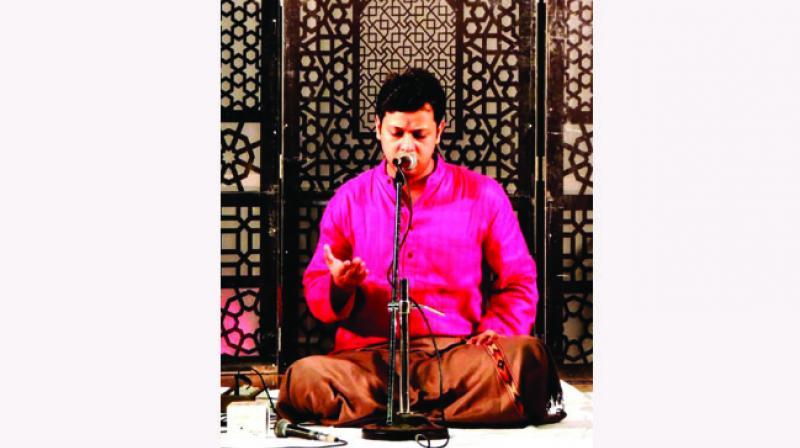 Sumeet Annad Pandey, grandson on Pt Siyaram Tiwari