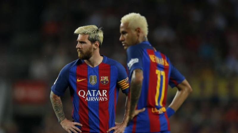 Messi denied reports he had used his influence to try and force the Barcelona board to push through the deal. (Photo: AP)