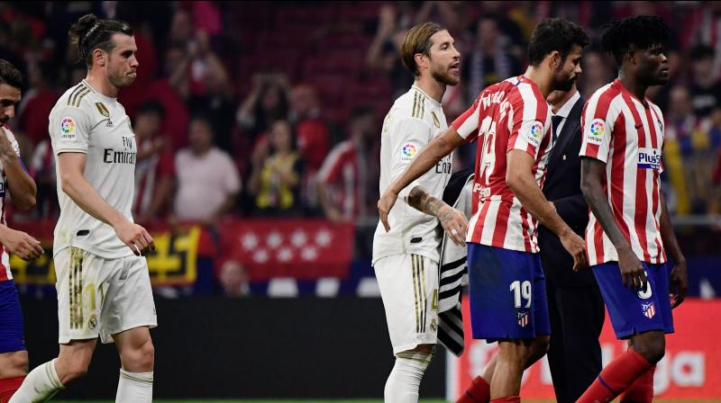 Real Madrid's goalless draw with Atletico Madrid on Saturday in La Liga was not an entertaining spectacle but it proved Sergio Ramos' side are heading in the right direction. (Photo:AFP)