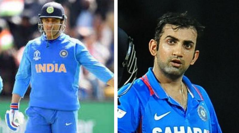 Gautam Gambhir, the cricketer-turned politician is known for making quite bold and honest statements. Recently, the 2011-World Cup winner stated about the issues that the Indian cricket team needs to address before competing for the 2020 T20 World Cup.  Apart from stating the problems which the team is currently facing, the former Indian cricketer also commented on India's veteran wicket-keeper Mahendra Singh Dhoni's future. (Photo:AFP)