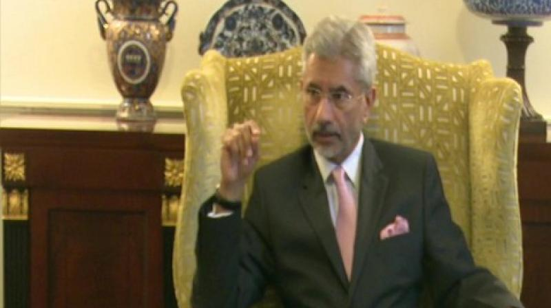 Speaking to media here, Jaishankar said that the resolution neither provides a fair understanding of the situation in Jammu and Kashmir nor fair characterisation of what the Indian government is doing in the region. (Photo: File)