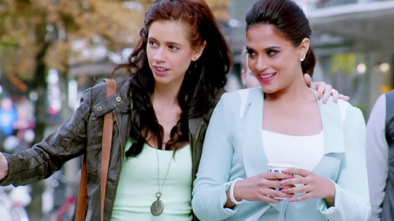 Still from the movie Jia Aur Jia