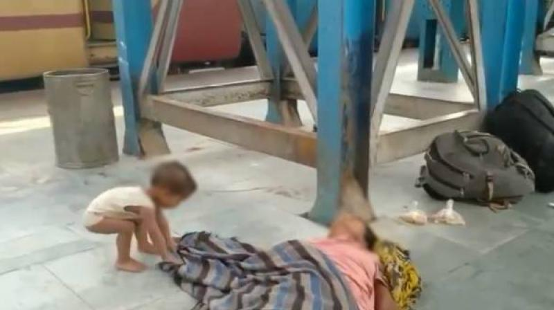 The distress of migrant workers, gut-wrenchingly captured by this photograph of a child trying to wake its dead mother at a railway station in Bihar, surpassed even the horrors of the coronavirus pandemic itself.