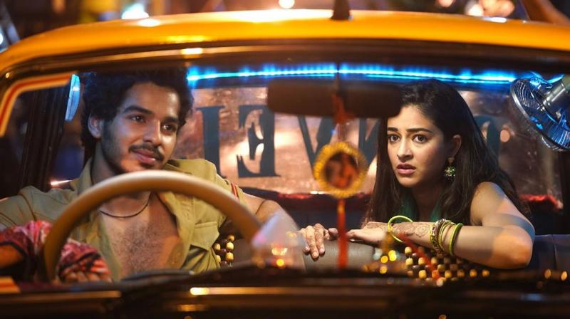 A scene from the Khaali Peeli, which premieres on Zee Plex on October 2.