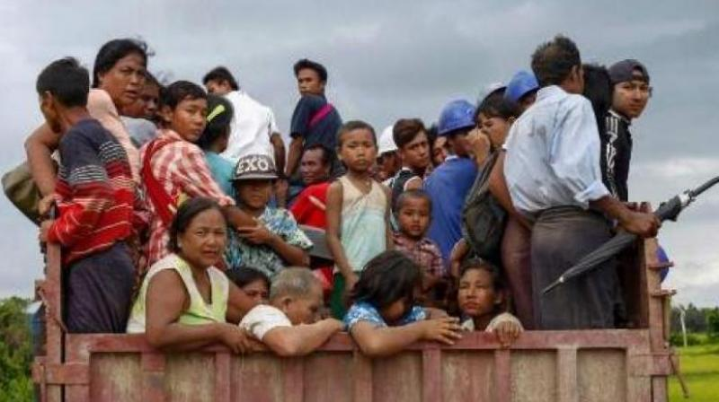 UNHCR said now 1 per cent of all humanity is displaced, and there are twice as many forcibly displaced people than a decade ago. (Photo: AFP | Representational)