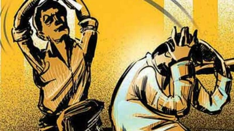 The city police arrested four persons for allegedly thrashing to death an unidentified man suspecting him to be a thief. (Representational Image)