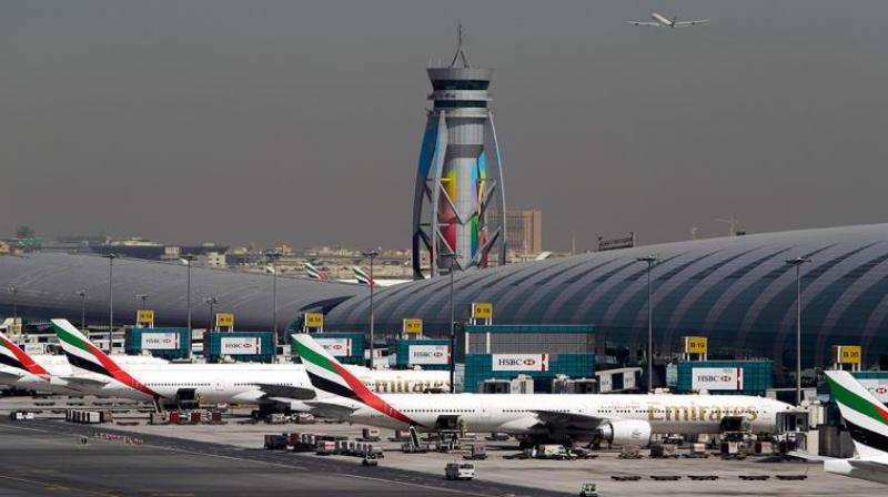 As per a report in the Gulf News, the Indian currency is now acceptable at all three terminals of Dubai International Airport and at Al Maktoum Airport. (Photo: Representational Image/AFP)