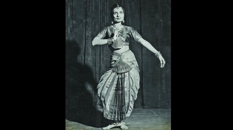 Shirin Vajifdar displayed great courage to study dance from Jaipur gharana doyen Sunderprasadji (Photo: Jeroo Chavda)