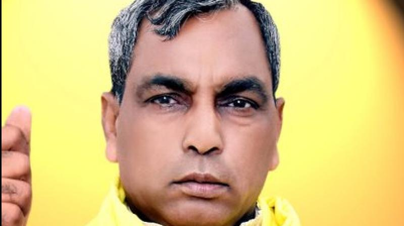 Rajbhar has also embarrassed his own party when in September this year, he openly announced a rally against BJP, claiming they have not been able to control the corruption in the country. (Photo: Twitter/@oprajbhar)