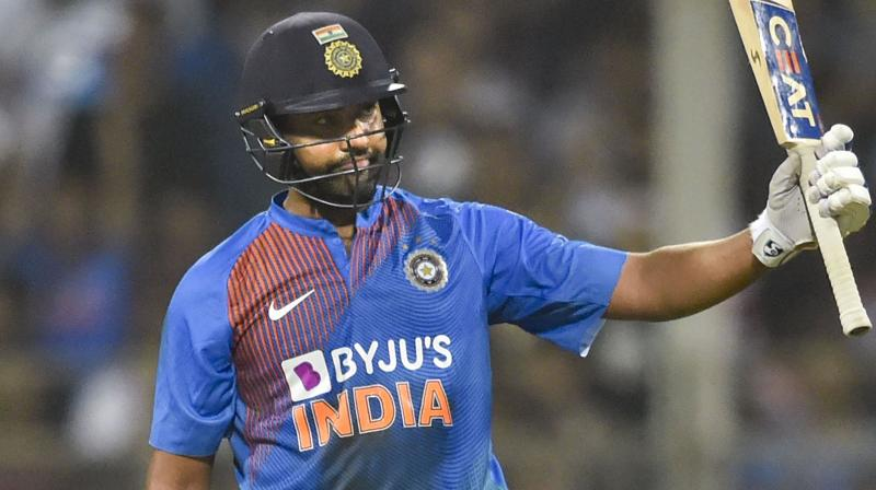 Image result for Rohit Sharma also showed the feat of hitting 400 sixes in international cricket.